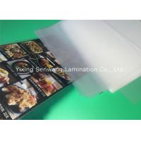 Gloss A5 Laminated Pouches , Heat Seal Laminating Pouches 150 Micron Thickness