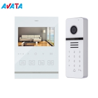 Quality Interphone Video Door Phone Doorbell Home Security Intercom System Video Recorder with 4.3 Inch for sale