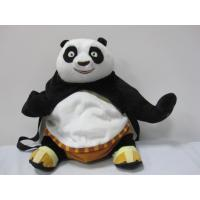 Quality 18 inch Fashion Cartoon Kungfu Panda School Backpacks For Promotion Gifts for sale