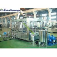 China Sparkling Carbonated Drink Filling Machine Automated PET Bottle Food Grade on sale