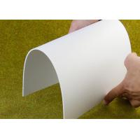Quality Outdoor Flexible PVC Sign Board Fireproof Lightweight Custom 1220 X 2440mm for sale