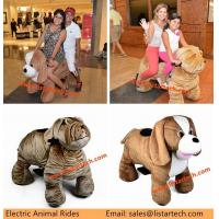 China Plush Animal Electric Scooter Automatic Electric Toys on Wheels for Parents and Kids on sale