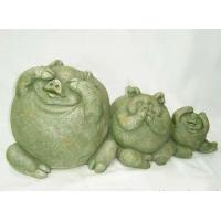 China Polyresin Pigs Decoration on sale