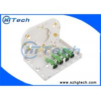Quality FTTH 4 Port Mini Fiber Optic Terminal Box, 4Core Fiber Distribution Box for sale