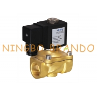 China 1/2 3/4 1 Inch Electric Bass Solenoid Valve For Natural Coal Gas 12V 24V DC 120V AC on sale