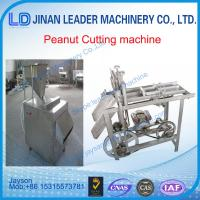 Quality Peanut strip cutting machine peanut slitter equipment for sale