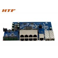 Quality Managed PCBA Embedded Ethernet Switch Board 8 Port 10/100/100M + 2SFP for sale