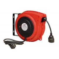 China Impact Resistant Polypropylene Electric Cable Reel With Over Load Breaker Red on sale