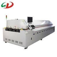 Quality Hot air Lead free 12 heating zones Reflow oven for SMT assembly line for sale