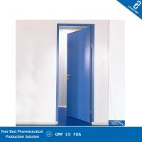 Quality Double Sealing Purified Operating Room Doors GMP Standard Sandwich Panel Door for sale
