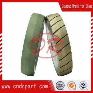 Quality Diamond v shape grinding wheel for 3d laser glass engraving machine for sale