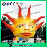 Quality 5m Giant Advertising Inflatable Sun with LED Light for Club and Party Decoration for sale