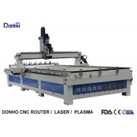 Quality ATC CNC Wood Milling Machine Craftsman CNC Router With Two Linear Tools Banks for sale