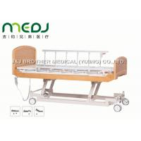 China Semi Fowler Electric Hospital Bed MJSD04-09 Nursing Bed With Wood Board on sale