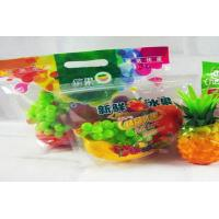 Quality PET/CPP Fresh Fruit Bags Vegetables Packaging Laminated Plastic Gravure Printing for sale