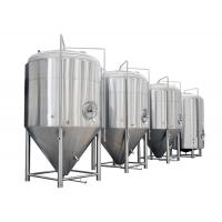 China Color Mirror Polish / Steel Small Conical Fermenter For Beer Brewing Kits on sale