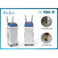 Quality FDA wrinkle removal 5Mhz fractional rf microneedle machine for spa/clinic for sale