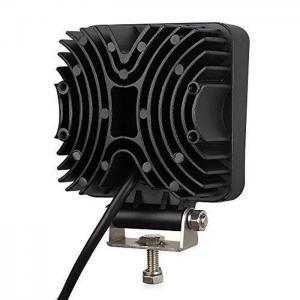 "Quality Square 4"" 27W Led Work Light Flood Beam Driving Fog Lights off road Lights 10-30V IP67 Thicker profile for sale"