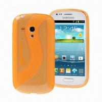 Quality Cellphone Cases for Samsung Galaxy SIII Mini i8190Made of TPU/S Line Design/Available in Many Color for sale