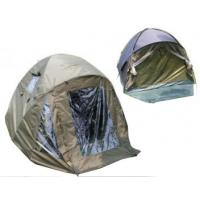 Quality Dome overwrap Waterproof Carp Fishing Tent With ground pegs & PE groundsheet for sale