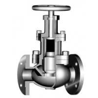 China Bolted Bonnet Back Seal Design 3 Way Globe Valve For Sour Gas Service on sale
