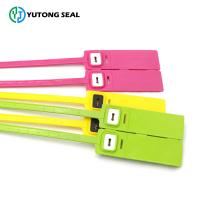 Quality YTPS 307   Plastic Seal One Time Used Numbered Plastic Locks Seal for sale