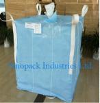Quality 1000kg Anti static Industrial Bulk Bags CROHMIQ blue / white for storage chemical powder for sale