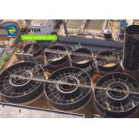 China Super Corrosion Resistance Bolted Steel Waste Water Storage Tanks For WWTP on sale