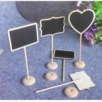 Creative blackboard wooden crafts with many shapes in low price on hot sale