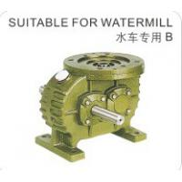 Quality Cast Iron Shell Worm Reduction Gear Special Use for Watermill Made in China for sale