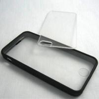 Quality Bumper and Screen Protector, Suitable for iPhone 5, Flexible for sale