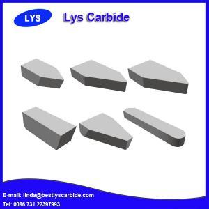 Quality Carbide Brazed Tips A120 YG6 YG8 YT5 YT15 for sale
