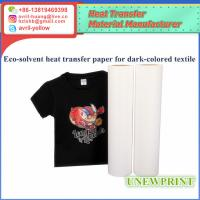 Buy cheap 0.5m*30m dark color eco solvent heat transfer vinyl from wholesalers