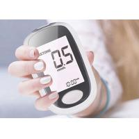 China Big LCD Digital Display Electronic Medical Equipment Blood Glucose Monitor 16*11*5cm on sale