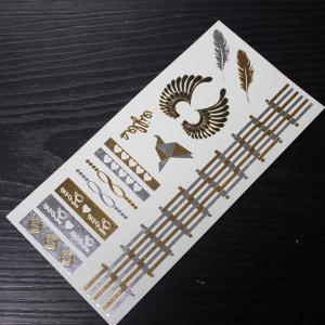 China buy temporary metallic tattoos online on sale