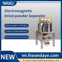 Buy Drum Magnet Self Cleaning Magnetic Separator Machine for chemical medicine food at wholesale prices