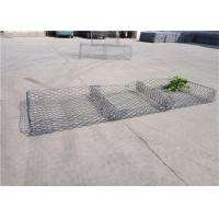 Quality PVC Coating Reno Gabion Mattress Weaved Mesh Gabion ISO9001 Approved for sale