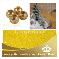 China Christmas decoration PET glitter powder for crafts on sale