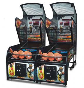Quality Indoor Arcade Basketball Hoop Game Machine Steel Tube Rim Ball Automatic Return for sale