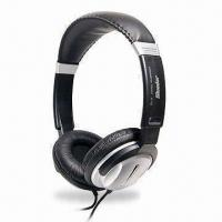 Quality Deluxe Hi-fi Monitor Stereo Headphone with 3.5mm Stereo Plug and 40mm Driver Unit for sale