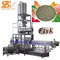 Buy cheap SLG95 Fish Feed Extruder Pellet Making Machine Engineer Install Service from wholesalers