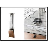 China 650mm Triangle Quarz Glass Tube Patio Heater Stainless Steel Or Powder Coated on sale