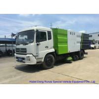 Quality Kingrun Vacuum Road Sweeper Truck For Dust Suction , Street Sweeper Vacuum Truck for sale