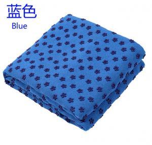 Quality anti slip microfiber yoga towel , hot sale yoga towel match with yoga mat for sale