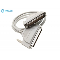 Quality Custom D-SUB 37 Pin DB37 Male to DB37 Male Connector Serial Extension Cable for sale