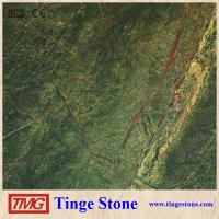 Quality Indian Green Marble Rainforest Green Marble Tile For Decoration for sale