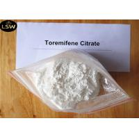 Quality 99.7% Purity White Anti Estrogen Steroids Powder Toremifene Citrate for Breast Cancer CAS 89778-27-8 for sale