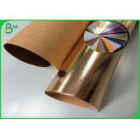 Natural Fiber Pulp 0.55mm Washable Fabric Kraft Paper For Making Bags