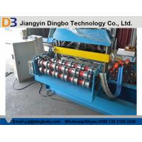 China Hydraulic Curving Roof Panel Roll Forming Machine for Round Roofs of Buildings on sale