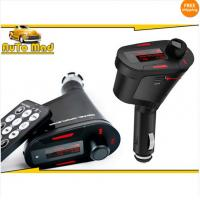 Quality Free Shipping Wireless Car cigarette Mp3 FM Modulator Transmitter USB SD Music Player + Remote for sale